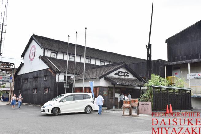 小豆島の醤油工場