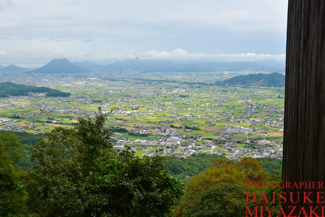 金比羅山からの景色