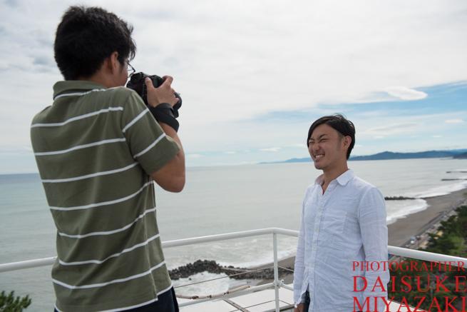 カメラマンとモデル