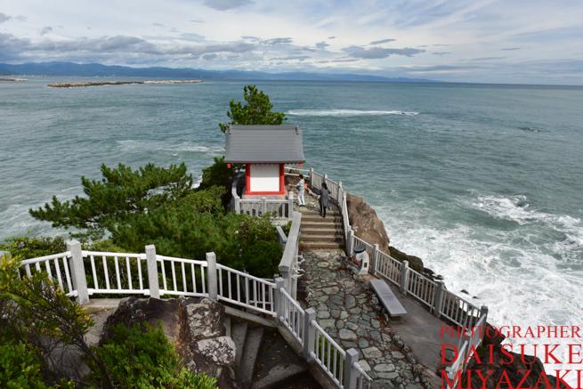 桂浜の神社