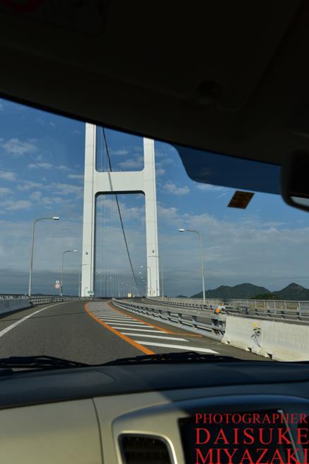 しまなみ海道を車で渡る