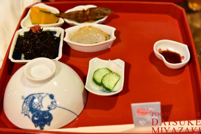 鯛飯の副菜たち