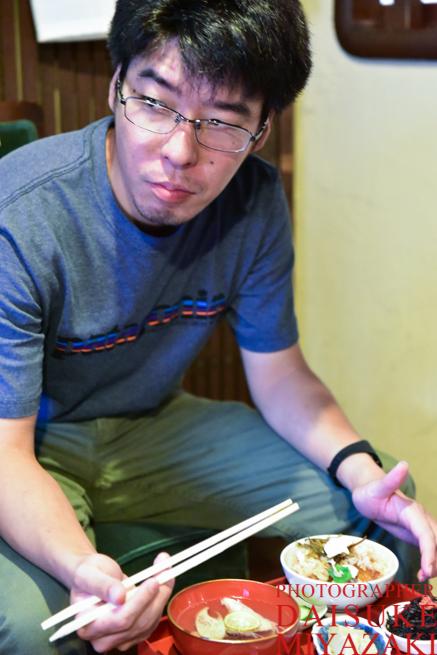 鯛飯を食べた男
