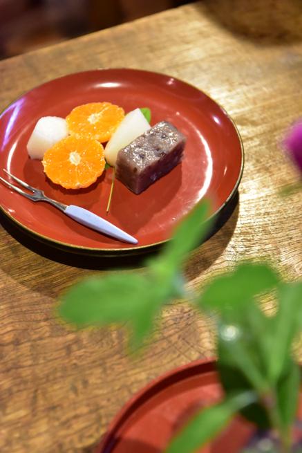 鯛飯のデザート