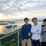 道後温泉、松山城、しまなみ海道、今治城を一日で観光したよ