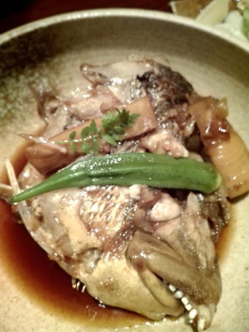 鯛のカブト煮