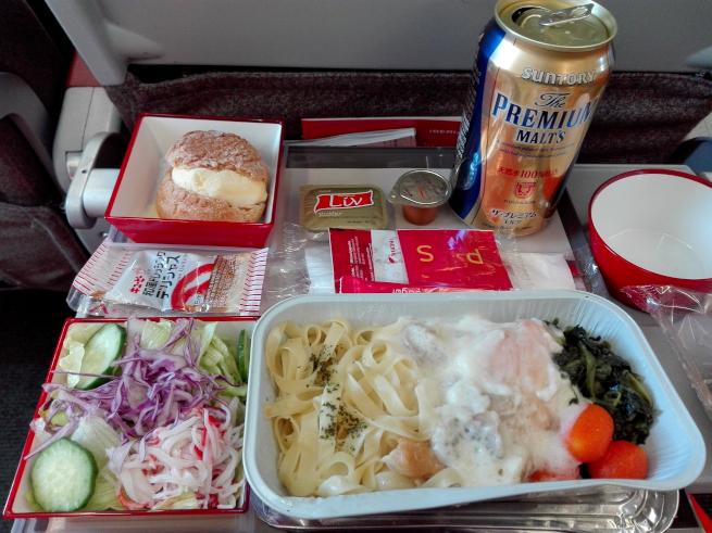 イベリア航空の機内食