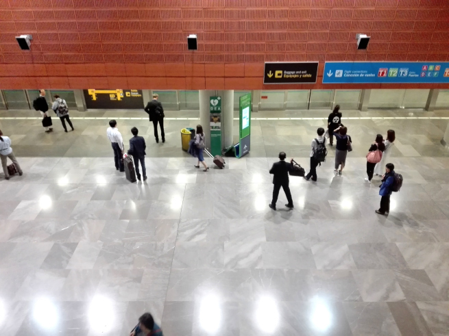 マドリード空港第四ターミナルS