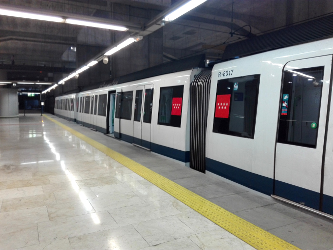 マドリードの地下鉄
