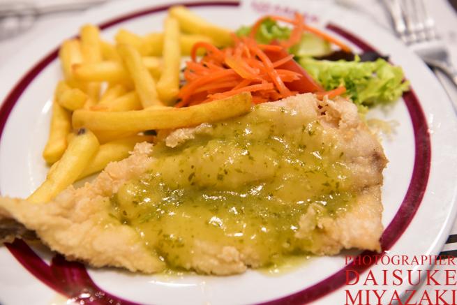 スペインの魚料理