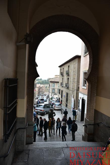 トレドの大きな門