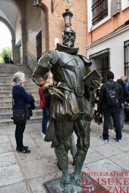 ドン・キホーテの銅像
