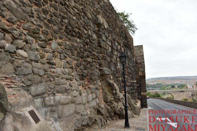 トレドの城壁