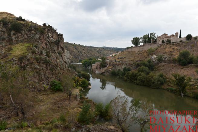 トレドの川