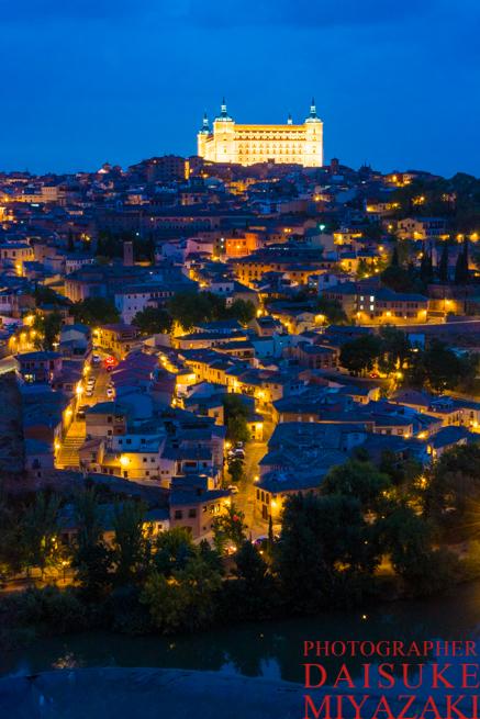 トレドの街と城