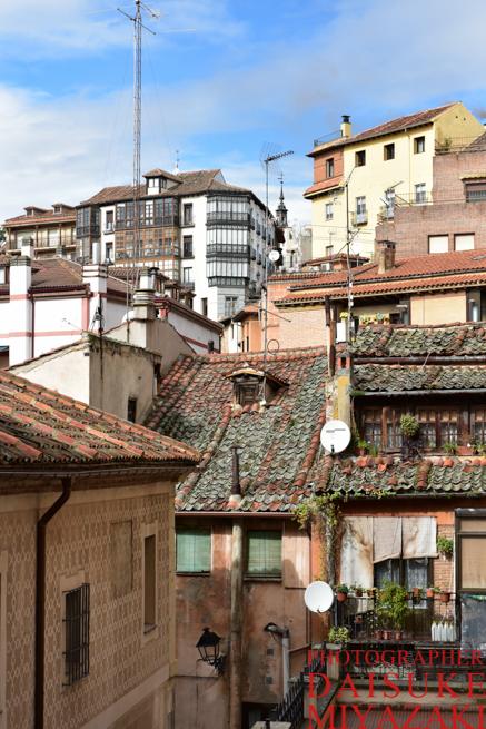 セゴビアの家たち