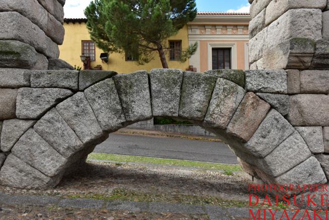 水道橋の一番低い部分