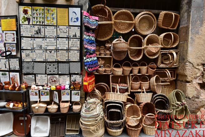 セゴビアのお土産物屋