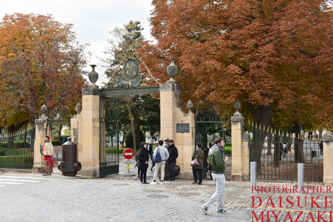 セゴビア城の入り口