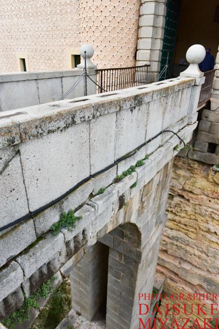 セゴビア城への陸橋