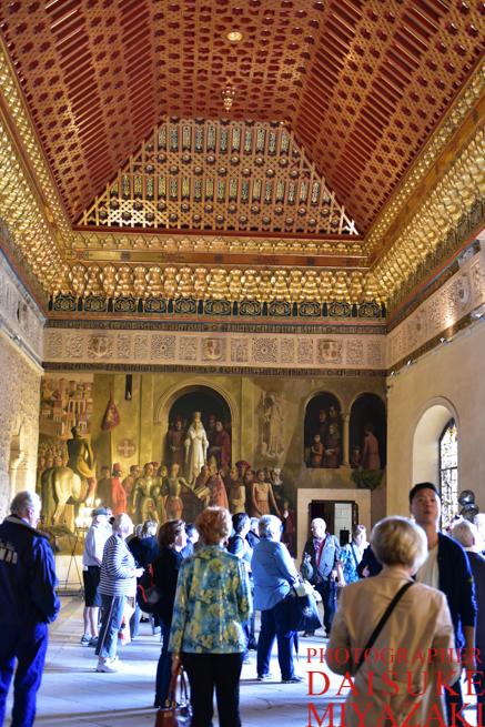 セゴビア城の内部観光