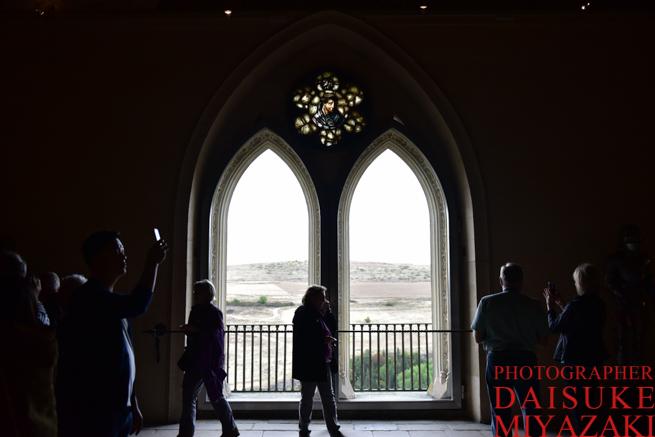セゴビア城の窓