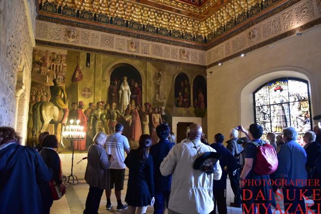 セゴビア城を観光する