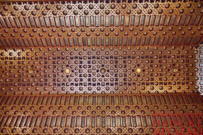 セゴビア城の天井模様