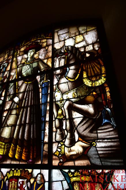 セゴビア城のステンドグラス