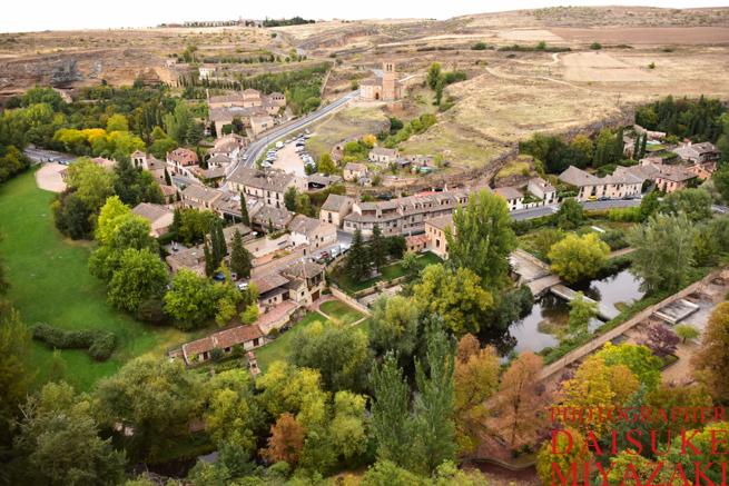 セゴビア城からの眺め
