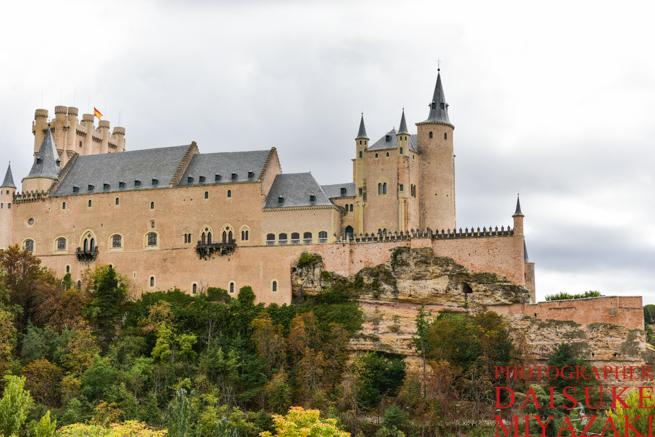 セゴビア城の右側