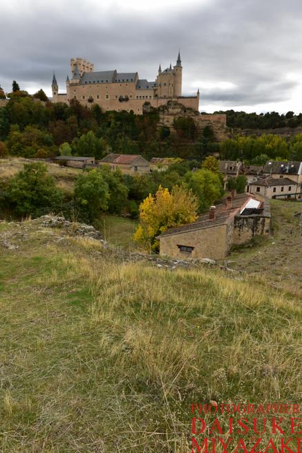 セゴビア城の絶景撮影ポイント2