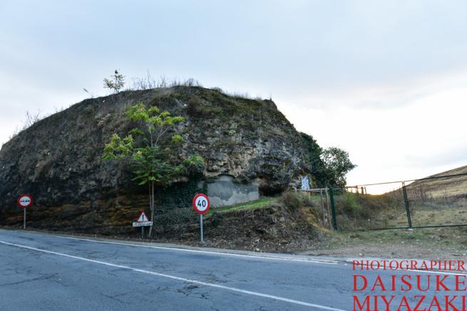セゴビアの絶景撮影ポイントへの入り口