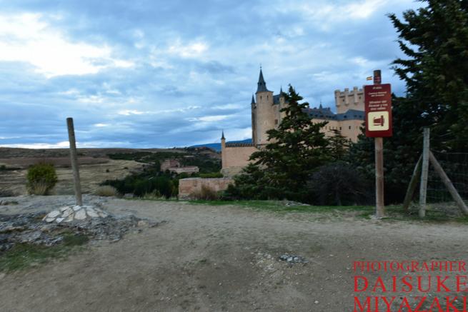 セゴビア城を撮影するポイント