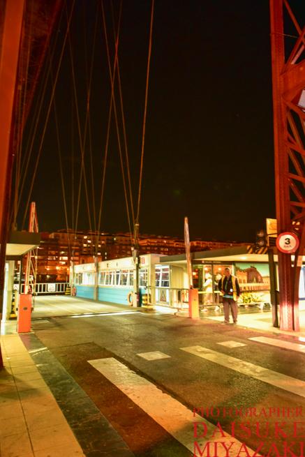 ビスカヤ橋の乗り込み口