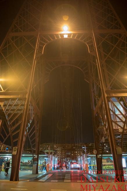 ビスカヤ橋の鉄骨