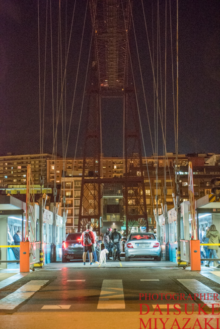 ビスカヤ橋の正面