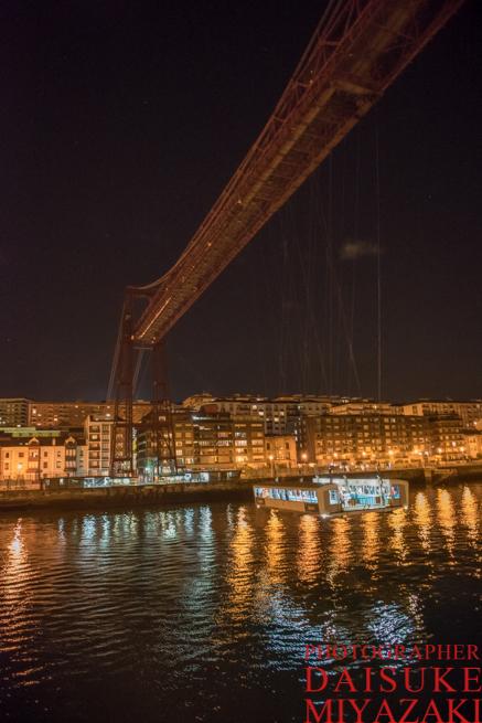 スペインの吊り橋