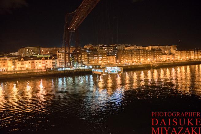 ビルバオの吊り橋