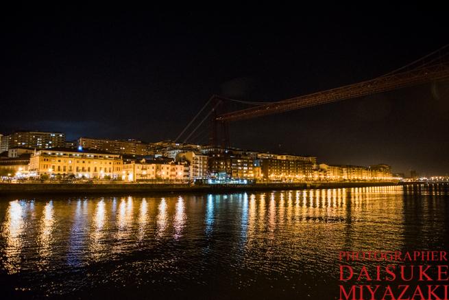 ビスカヤ橋の全景