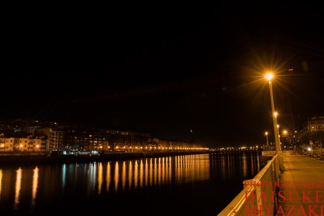 ビスカヤ橋の川