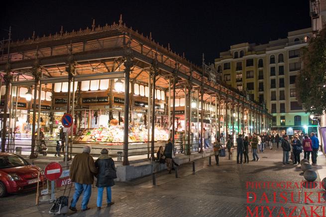 サンミゲル市場の建物