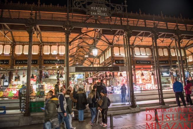 サンミゲル市場の入り口