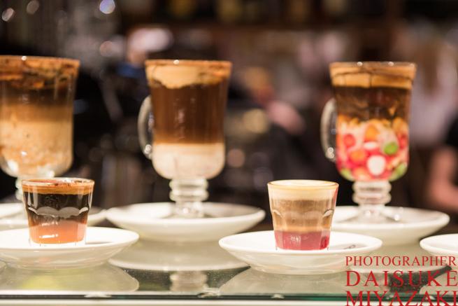 サンミゲル市場のコーヒー