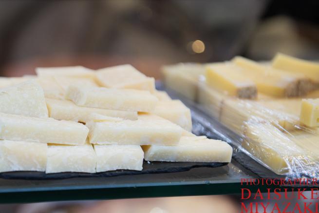 一口サイズのチーズ