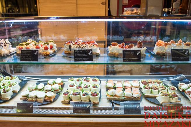 サンミゲル市場のデザート売り場