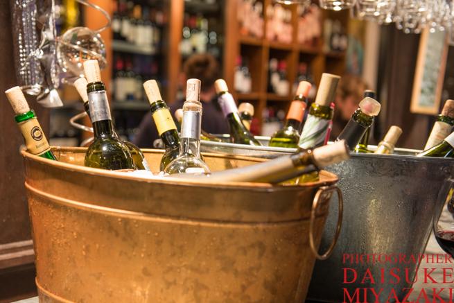 サン・ミゲル市場のワインたち