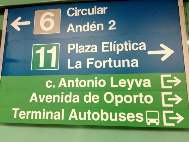 スペインの地下鉄