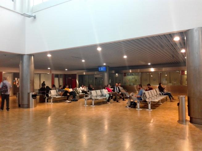 トレドのバスターミナル