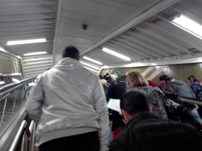マドリード戦前の地下鉄